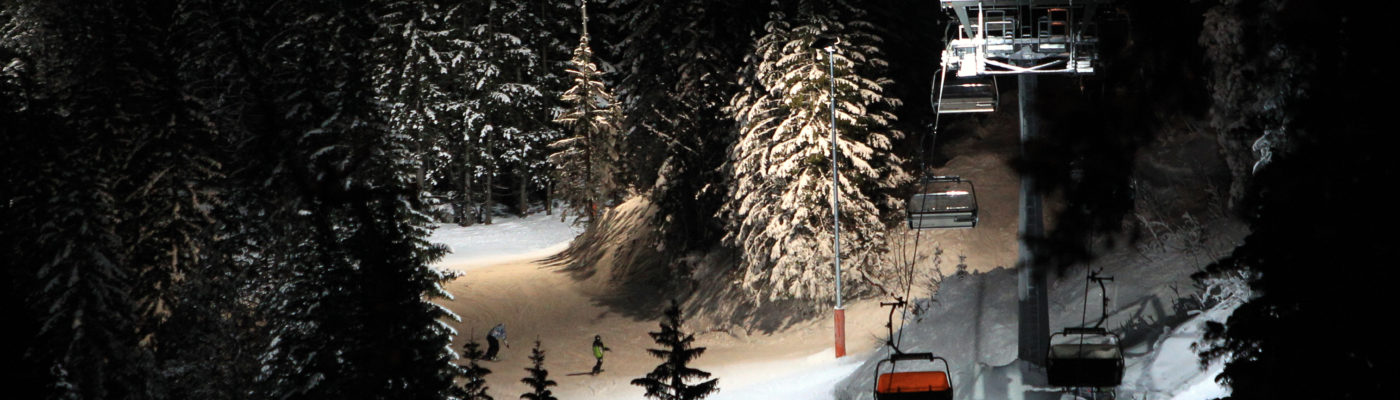 Nachtskifahren, Feierabend-Sessions, Race, Video, Synchro, Skitest